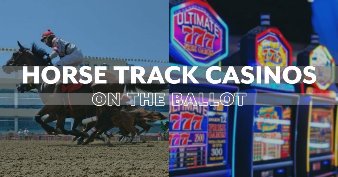 Perjudian kasino di trek balap Nebraska di surat suara Nebraska